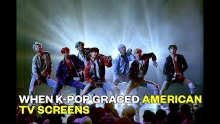 When K-Pop Graced American TV Screens