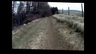 Welsh Mountain Bike Series rnd 3 Fforest Fields practice lap. OMPro Team Filmed with Hedcamz Bullet