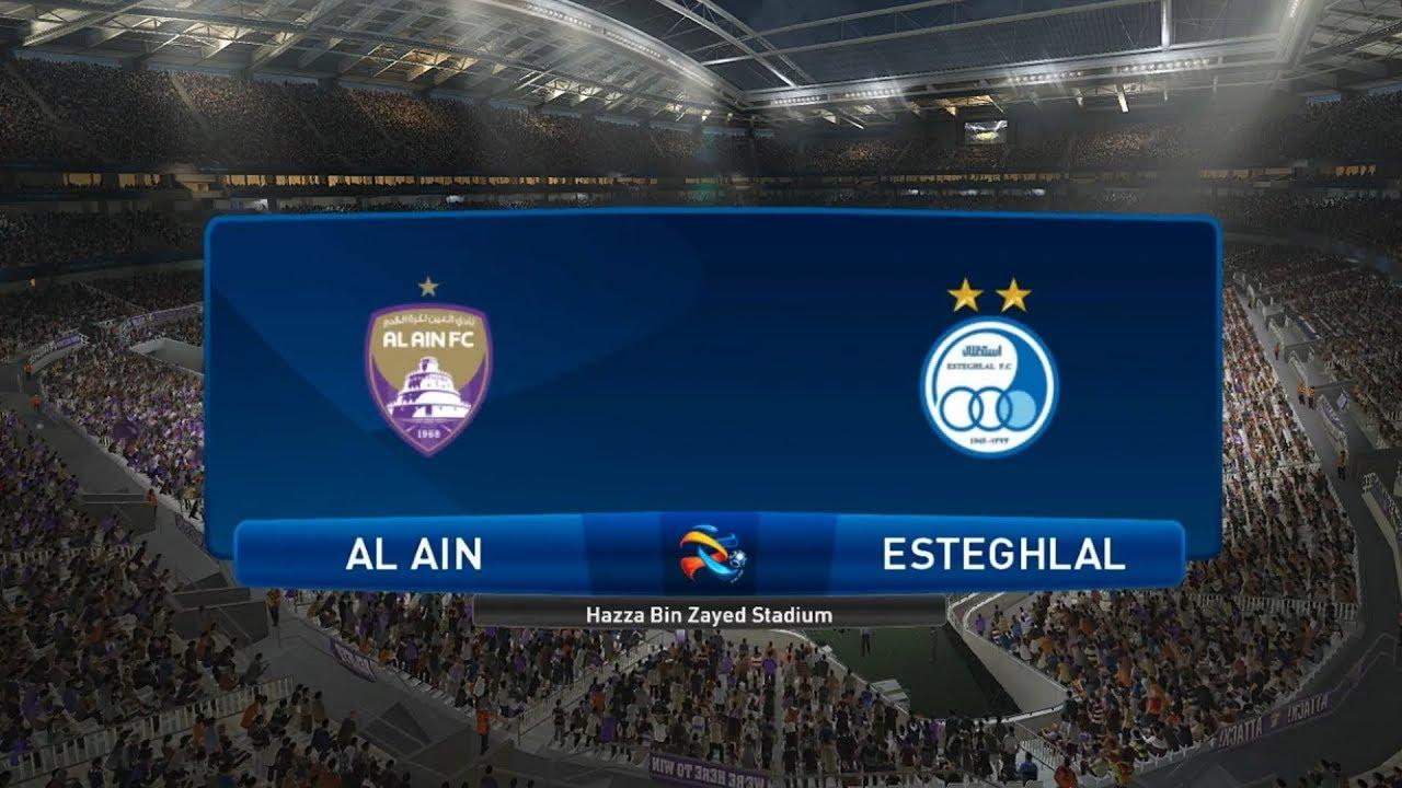 Al Ain Vs Esteghlal 2019 Afc Champions League Pes 2019 Youtube