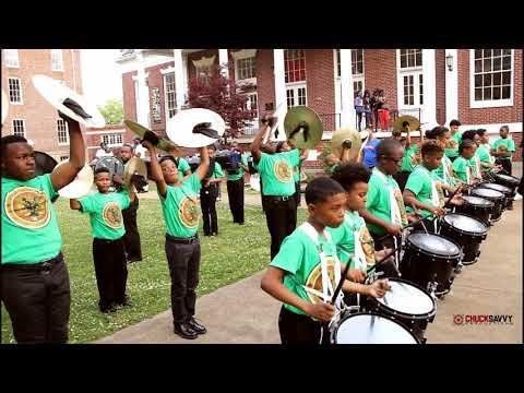 Roots Of Music vs Georgia Washington   Talladega College 2nd Annual Percussion Showcase