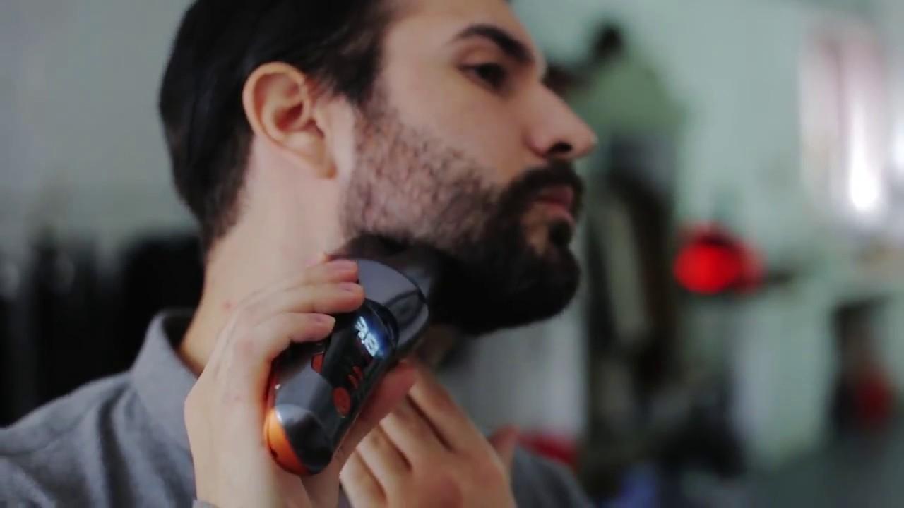 noul trimmer beard designer de la babyliss for men youtube. Black Bedroom Furniture Sets. Home Design Ideas