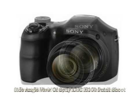 Видеообзор Sony Cyber-Shot DSC-H100 - YouTube