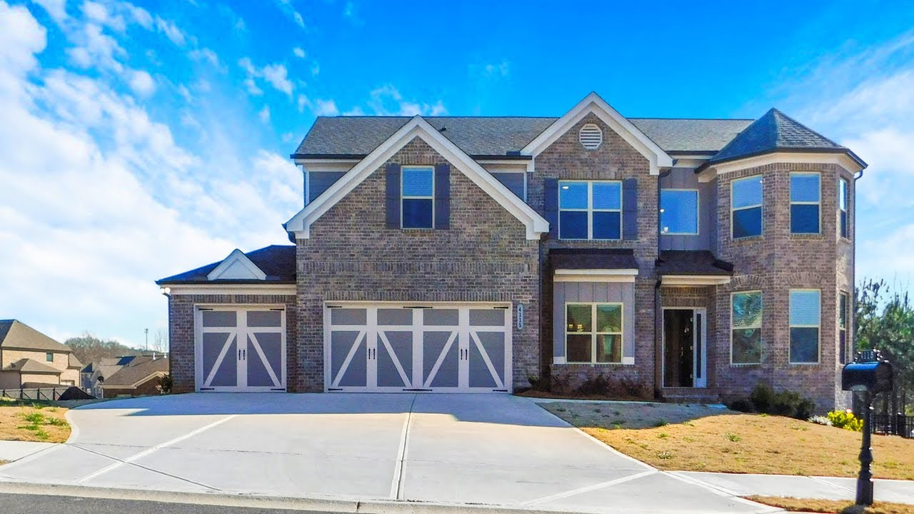 AVAILABLE FOR IMMEDIATE SALE - NEW 5 BDRM, 3 BATH HOME ON BASEMENT N. OF ATLANTA