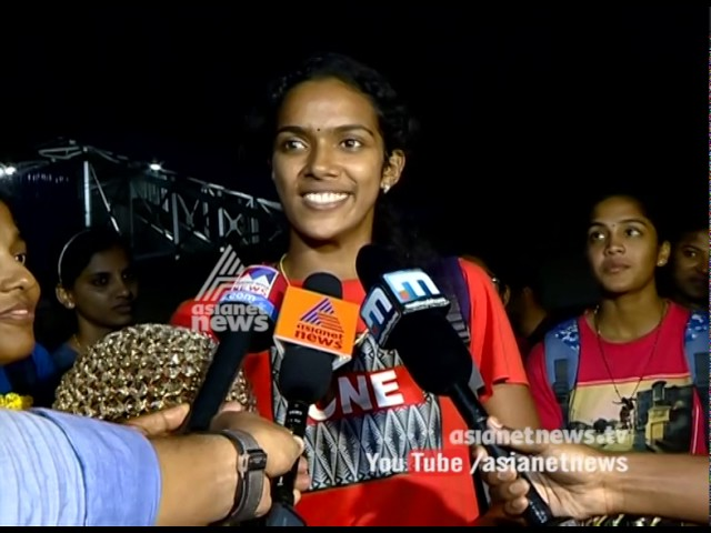 Warm welcomes to Kerala senior women basketball team