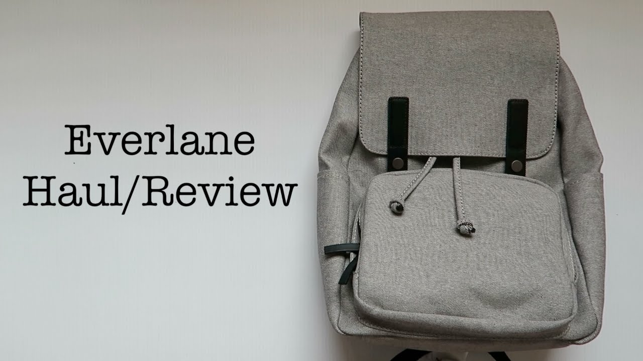 Everlane Haul Review - YouTube 60c0afedfe37b