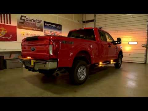 Emergency Management F350 with multi color lighting and BluePrint controller from SoundOFF Signal