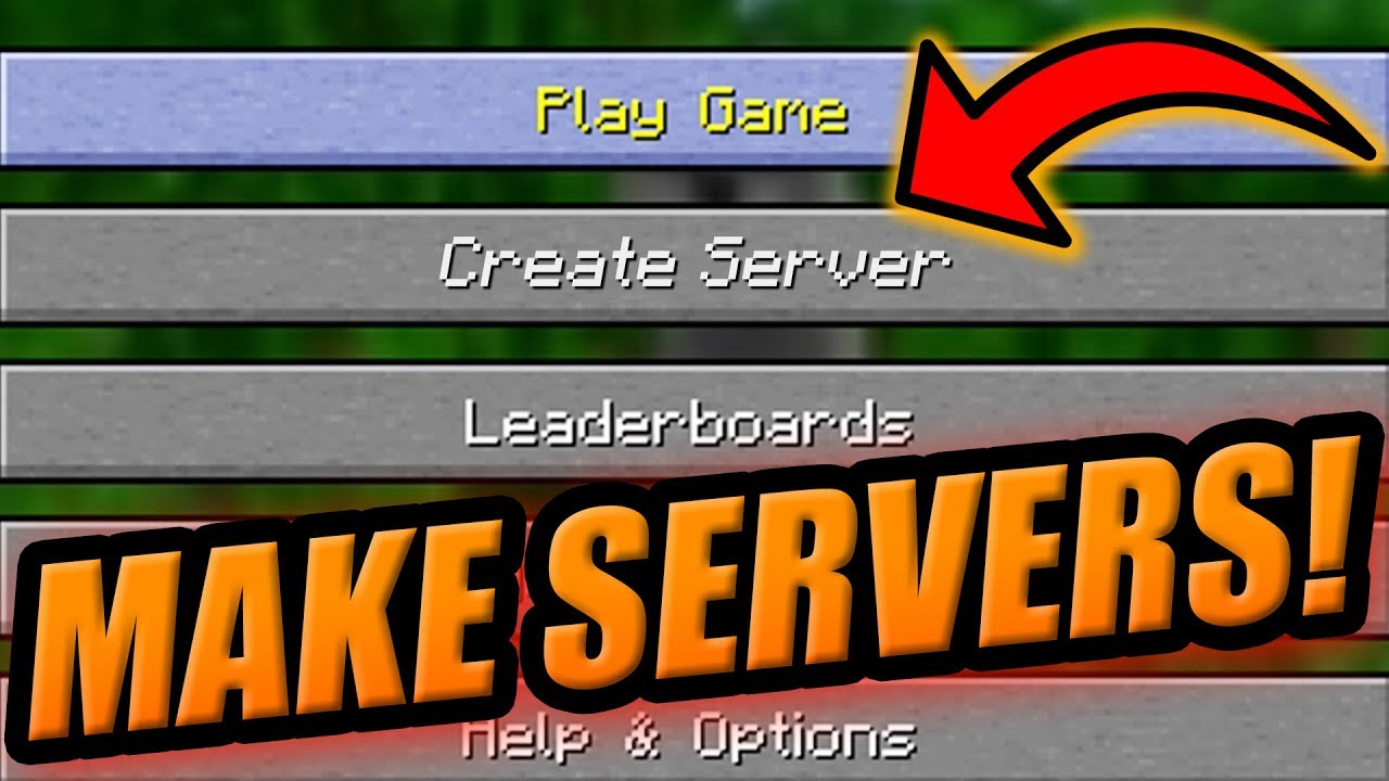 Make Your Own Servers In Minecraft Minecraft Console Bedrock Custom Servers Youtube