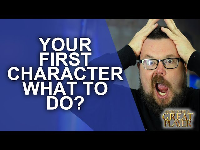 Great Role Player - How to make Your first character ever - GMTips