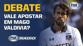 """VALDIVIA TERIA VAGA NO TIME DO PALMEIRAS? Veja o debate no """"FOX Sports Rádio"""""""