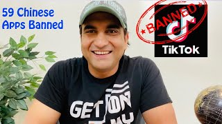 Tiktok Ban in India - Youtubers pe kya hoga asar   59 Chinese apps banned