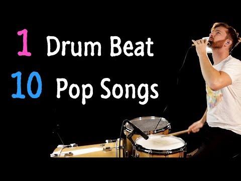 1 Drum Beat 10 Pop Songs