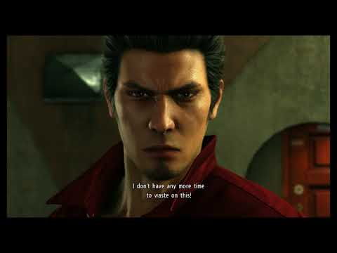 Yakuza 6: The Song of Life - Kazama Kiryu to  Tsuyoshi Nagumo