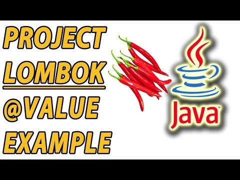 Project Lombok Immutable Value Example (Part 6)
