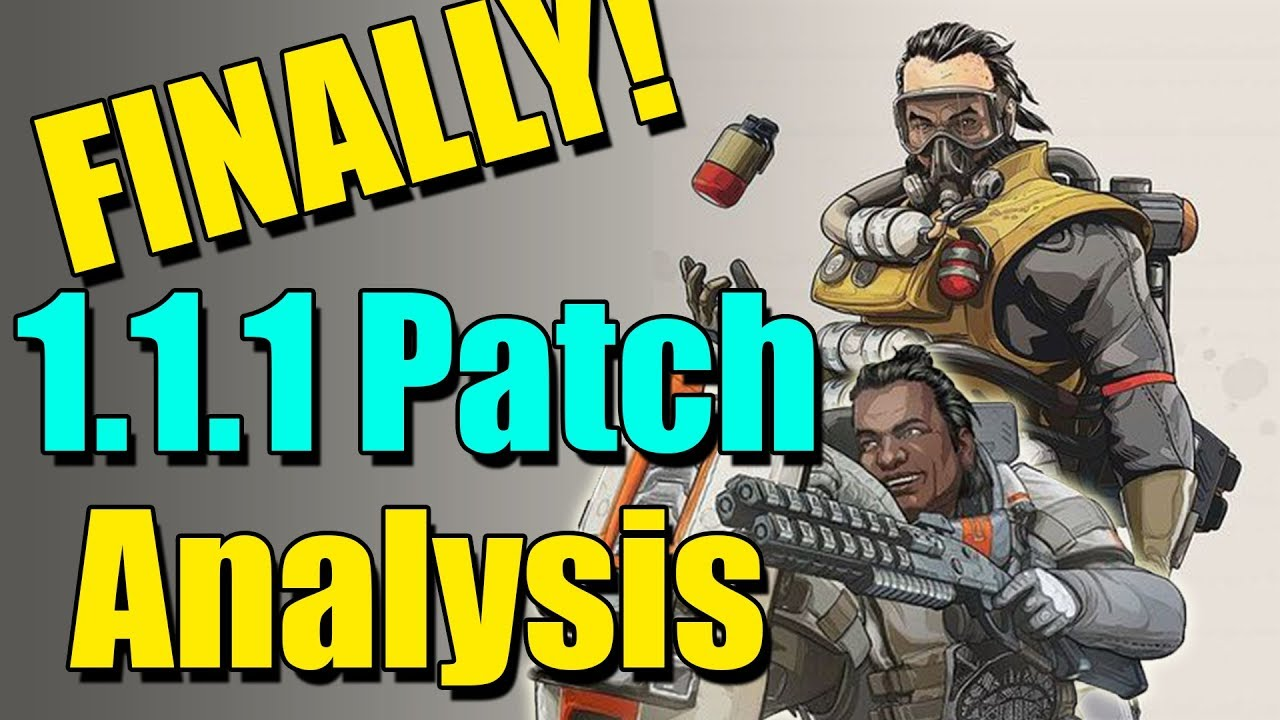 patch notes apex legends 1.1.1