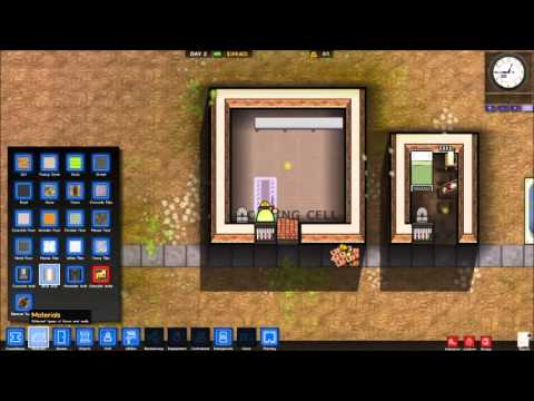Prison Architect Tutorial (Alpha 14h) Prisoner Accommodation