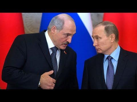 Лукашенко Путину: Тебя