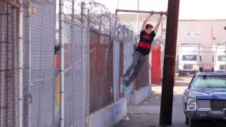 Best Crazy Parkour Free Running Stunt Video Ghost Riding 2015