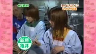 亀井絵里 新垣里沙 VS 紺野あさ美 石川梨華 - オリジナルほうとうバトル...
