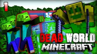 FORT WOODCRASH - Minecraft Dead World #1 [Deutsch/HD]