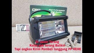 Video LAMPU TEMBAK SOROR LED BAR CREE CWL 24 MATA 2 SUSUN LED MOTOR MOBIL 24 TITIK download MP3, 3GP, MP4, WEBM, AVI, FLV Mei 2018