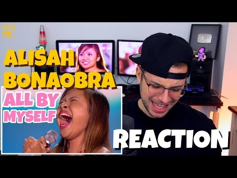 Alisah Bonaobra - All By Myself | 6 Chair Challenge | The X Factor UK 2017 | REACTION