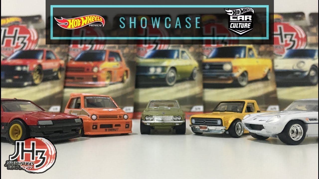 Showcase - Hot Wheels 2020 Car Culture Japan Historics 3 ...
