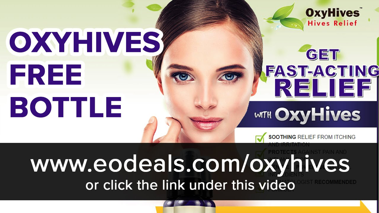 Oxyhives Spray Get Your Free Bottle Youtube