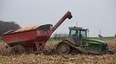 Mokrá kukuřice 2017 - 2 x S690i | Zapadlý John | Muddy corn harvest 2017