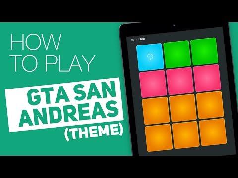 How to play: GTA SAN ANDREAS Theme  SUPER PADS  Thug Kit