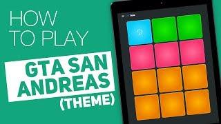 How to play GTA SAN ANDREAS Theme SUPER PADS Thug Kit