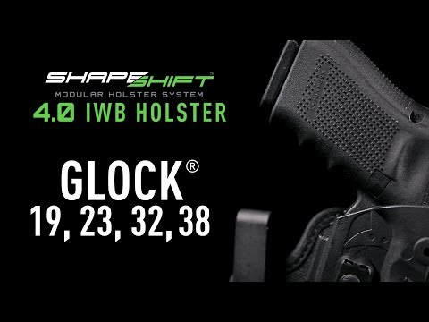 Best Concealed Carry Glock 19 IWB Holster | Alien Gear Holsters