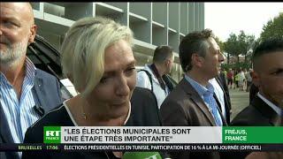 Université d'été du Rassemblement national : Marine Le Pen concentrée sur les municipales