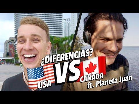¿DIFERENCIAS entre CANADA y ESTADOS UNIDOS? ft Planeta Juan