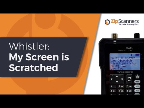 Whistler: My Screen is Scratched