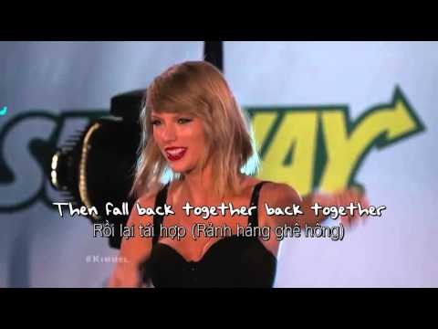 [Vietsub] Out Of The Woods - Taylor Swift (Live at Jimmy Kimmel)