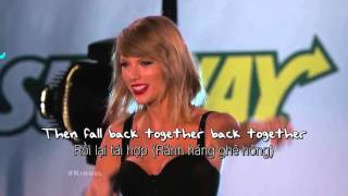 [Vietsub] Out Of The Woods Taylor Swift (Live at Jimmy Kimmel)