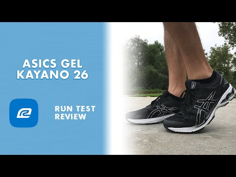 ASICS Gel Kayano 26 - Run Test Review (thoughts and ...
