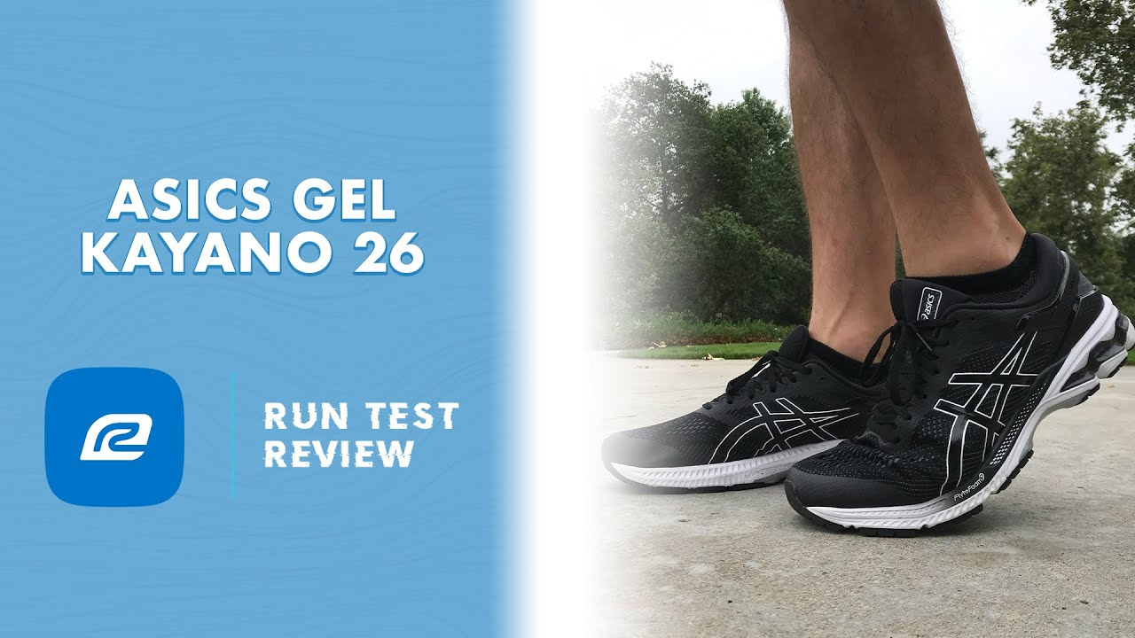 ASICS Gel Kayano 26 - Run Test Review (thoughts and reccomendations)