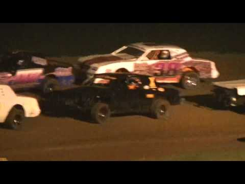 Factory Stock Feature Race 67 Speedway 7-26-2014