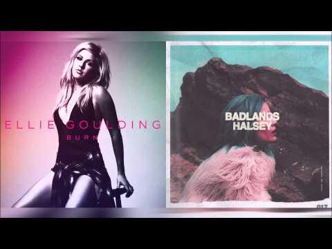 Ellie Goulding vs Halsey - Color Burn (Mashup)