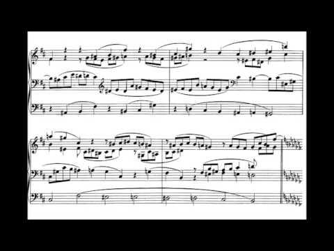 Johannes Brahms - Fugue in A flat minor, WoO 8 for organ (1856) {Wayne Marshall}