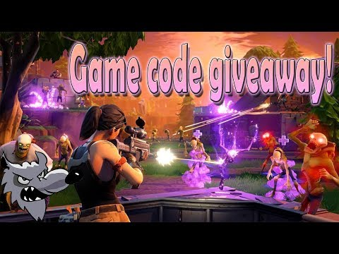 Fortnite legendary edition story mode! Plus a standard Fortnite game Giveaway! - Durée: 46:37.