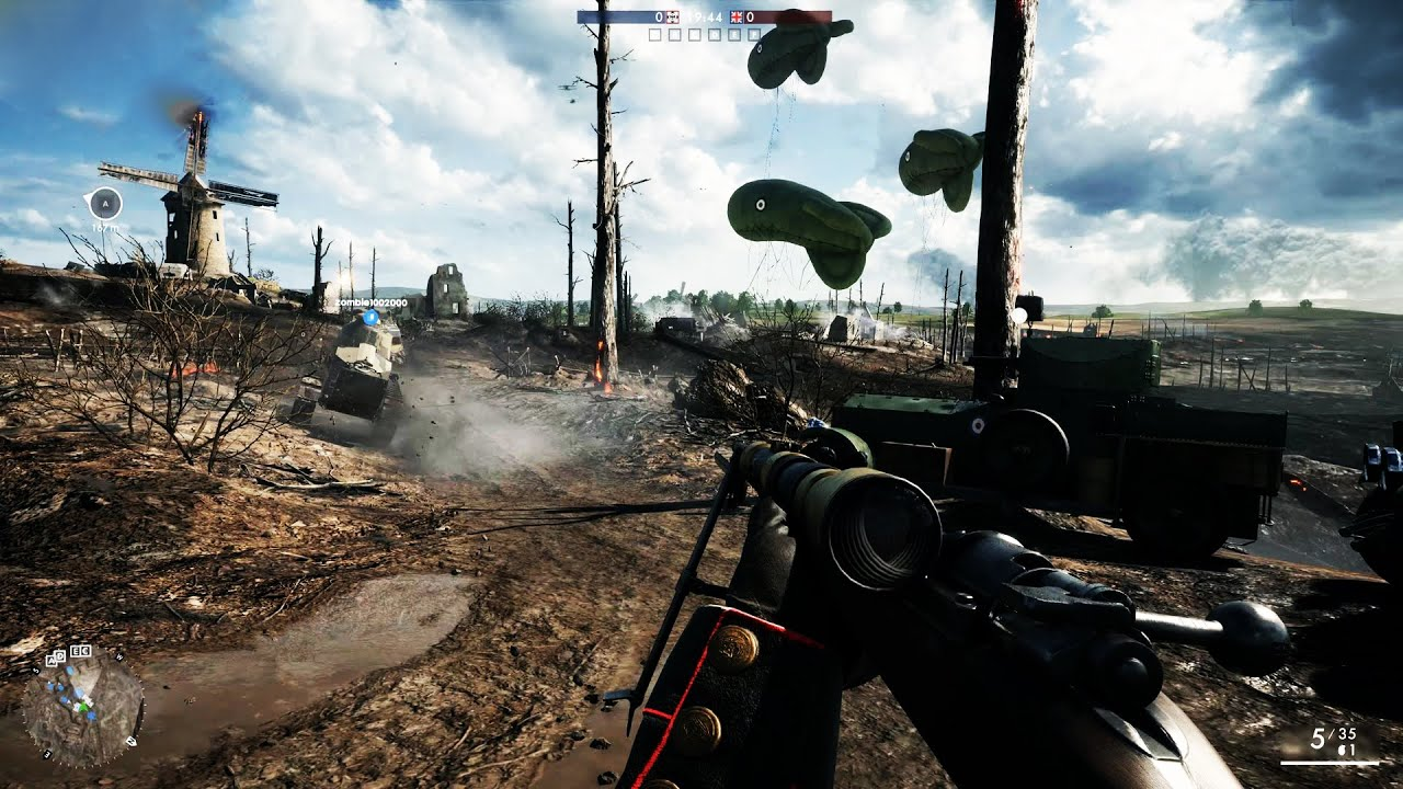 battlefield 1 gameplay