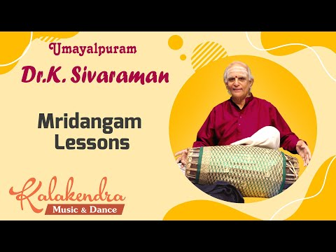 Umayalpuram K.Sivaraman - Mridangam Lessons