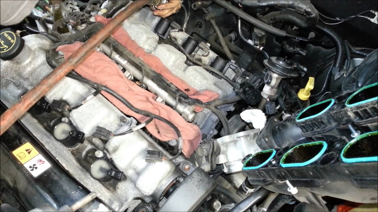 ford escape 3 0 v6 spark plug change