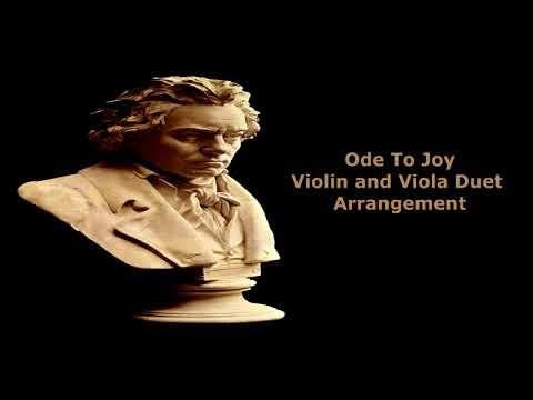 Ode To Joy Violin Viola Duet Arrangement
