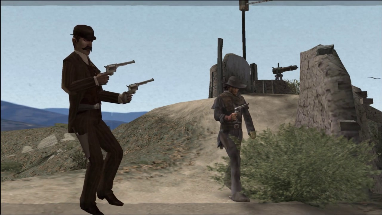 PCSX2 | Red Dead Revolver (60fps Patch) Gameplay