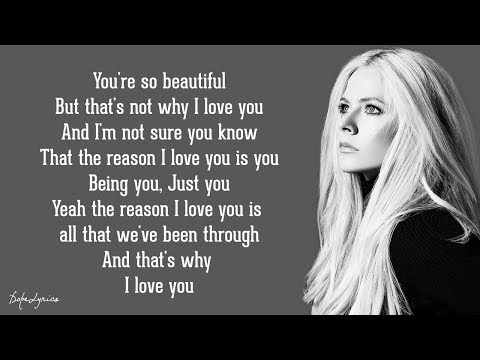 Avril Lavigne - I Love You (Lyrics) 🎵