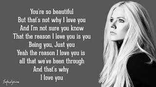 Avril Lavigne - I Love You (Lyrics) 🎵