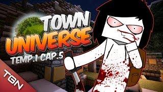 TOWN UNIVERSE: BIENVENIDA A CASA JALLY #5 (MINECRAFT SERIE DE MODS)
